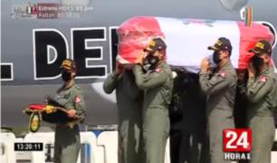 Callao: policías fallecidos en accidente aéreo reciben homenaje póstumo