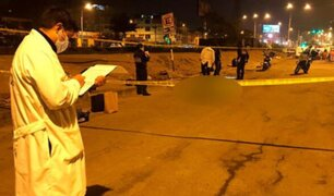 Tras fuerte discusión ciudadano extranjero fue asesinado a balazos en Ate Vitarte