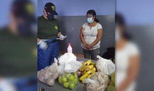 Arequipa: camuflada entre frutas, mujer intentó ingresar sustancia ilícita a centro carcelario