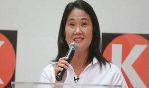 """Keiko Fujimori sobre AFP:  """"Se tienen que bajar las comisiones"""""""