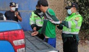 Trujillo: serenos salvan a sujeto de ser linchado por intentar  tocar a una menor de 13 años