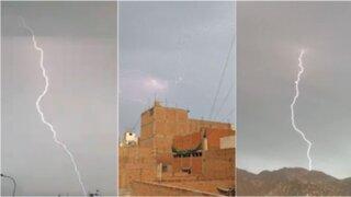 ¿A qué se debe la presencia de la tormenta eléctrica en la capital?