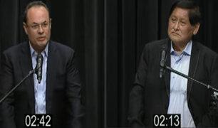 Carranza vs Pari: ¿Quién tuvo más claridad para exponer sus ideas de manera concreta?