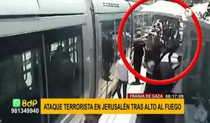 Tras alto al fuego entre Israel y Hamás: reportan ataque terrorista en Franja de Gaza