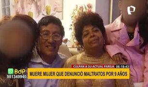 Presunto feminicidio: Doña María murió tras denunciar a su pareja por violencia 9 años