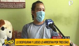 Sujeto es desfigurado por su vecino: fue a comisaría a denunciarlo y terminó detenido tres días