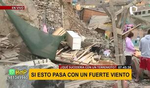 Ate Vitarte: lluvia y granizo afectó vivienda donde gemelos quedaron atrapados