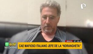 Brasil: cae capo de la mafia italiana, el rey de la cocaína de Milán