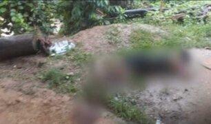Madre pide ayuda para ir a reconocer el cuerpo de su hijo asesinado en el VRAEM