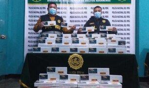 Decomisan más de 20 mil cigarros paraguayos que ingresaron ilegalmente al país