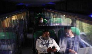 Sutran: Es obligatorio el uso de cortinas divisorias en los buses interprovinciales