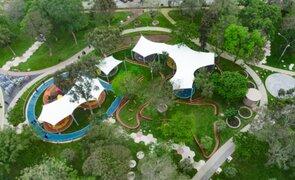 Parque de Los Sentidos: entregan primer espacio público inclusivo del Cercado de Lima