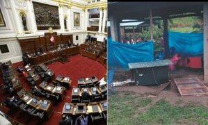 Congreso condena atentado en el Vraem y exige sanción ejemplar para responsables