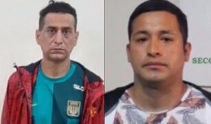 Capturan en Perú a sicarios buscados por la justicia argentina