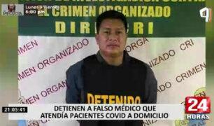 Ventanilla: cae falso médico acusado de provocar la muerte a uno de sus pacientes