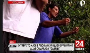 """[EXCLUSIVO] Camarada """"Gabriel"""": Nuestro objetivo era aniquilar a lo máximo a las Fuerzas Armadas y Policiales"""