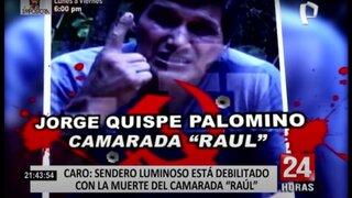 """Sendero Luminoso estaría buscando venganza luego de la muerte de """"camarada Raúl"""""""