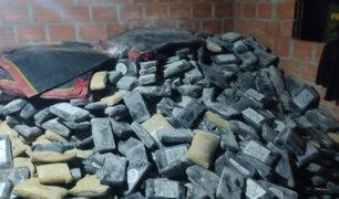 Puno: hallan cerca de dos toneladas de droga al interior de una vivienda