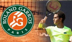 Juan Pablo Varillas avanza en la qualy del Roland Garros