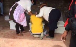 Masacre en el VRAEM: restos de 3 hermanas y sus 2 hijas llegaron a Huancayo
