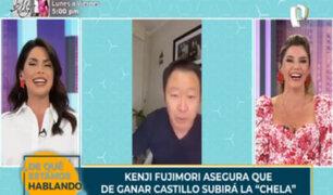 Kenji Fujimori pide que voten por su hermana para que la cerveza no suba de precio