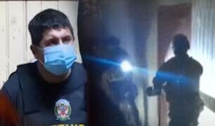 En Megaopertivo policía interviene 5 penales y viviendas de una banda de extorsionadores