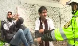 Cercado de Lima: Se incrementa robos ante presencia de personas de mal vivir en el puente México