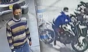 Motociclistas se unen para atrapar a un ladrón en Santa Anita