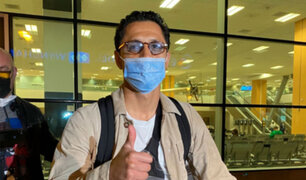 Selección peruana: Gianluca Lapadula arribó al país para partidos ante Ecuador y Colombia