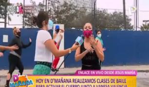 Clases de baile: diviértete y mantente en forma con Vanesa Valencia