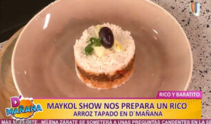 """Maykol Show sorprende en la cocina con delicioso platillo """"rico y barato"""""""