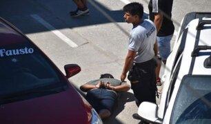 San Martín: asalto frustrado a Banco de la Nación dejó un ladrón abatido