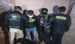'Los Angelitos de Pachacútec':  desbaratan banda que operaba desde cárcel y extorsionaba