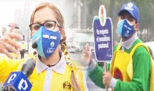 """Así es la dura labor de un """"Educador vial"""" en las calles de Lima"""