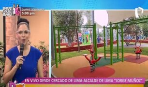 Cercado de Lima: conozca el parque inclusivo para personas con discapacidad y adultos mayores