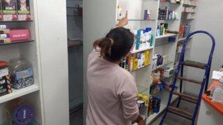 Realizan forado y se llevan medicamentos COVID valorizados en S/ 400 mil