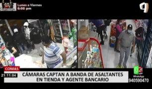 Vecinos denuncian que banda roba constantemente tiendas en Comas
