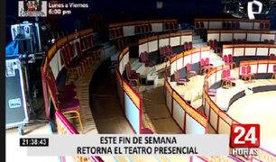 Teatros se preparan para reabrir bajo estrictos protocolos de bioseguridad