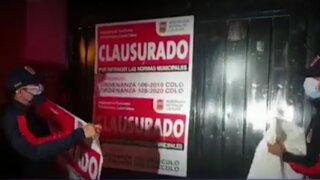 Los Olivos: más de 200 personas son intervenidas en un prostíbulo