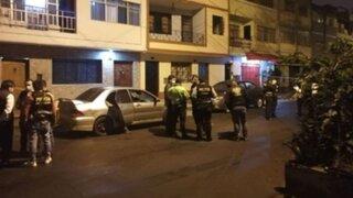 SMP: delincuente muere durante enfrentamiento con la PNP