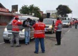 Tumbes: transportistas lanzaron palos y piedras para evitar operativo de la SUTRAN