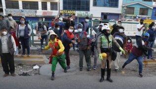 Arequipa: simpatizantes de Fuerza Popular fueron agredidos durante la llegada de Keiko Fujimori