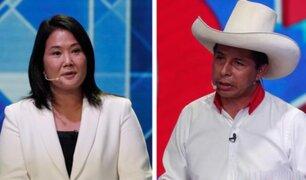 Keiko Fujimori vs Pedro Castillo: todo sobre el debate presidencial de esta noche en Arequipa