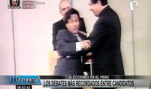 Elecciones en el Perú: Los debates más recordados entre candidatos presidenciales