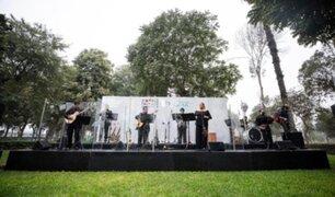 MML reanudó actividades culturales con espectáculo en parque Sinchi Roca de Comas