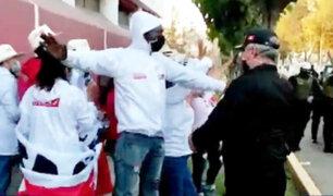 Portátil de Perú Libre provocó disturbios horas antes del debate presidencial