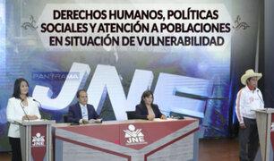 Debate presidencial: Fujimori y Castillo debaten sobre derechos, políticas sociales y poblaciones vulnerables