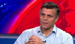 """Leopoldo López sobre Castillo: """"Es un discurso muy parecido a lo que sucedió en Venezuela"""""""
