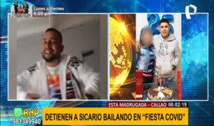 """Callao: detienen a acusado de asesinato bailando en plena """"fiesta covid"""""""