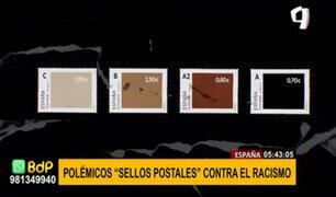 """España: campaña de sellos postales """"contra el racismo"""" generan polémica"""